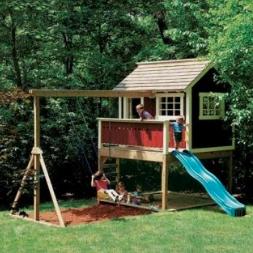 vaikų namelis
